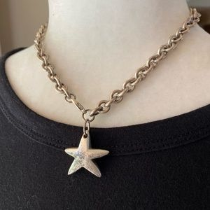 Vintage Star Chain Necklace